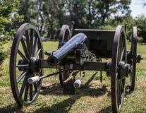 Artillería de la guerra civil fotografía de archivo libre de regalías