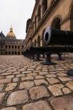 Artillería de Napoleon Fotografía de archivo
