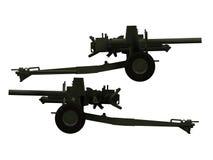 artilleri Arkivfoton