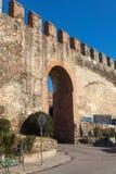 Stå hög triangeln - Thessaloniki - Grekland Royaltyfria Bilder