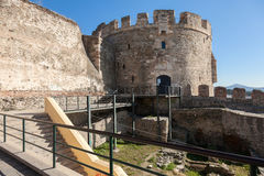 Stå hög triangeln - Thessaloniki - Grekland Arkivbild