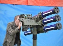 Artillerie Royalty-vrije Stock Foto's