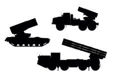 Artillerie lizenzfreie abbildung