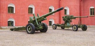 artillerie Stock Foto
