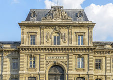 Artillerie Building in Paris Royalty Free Stock Photo