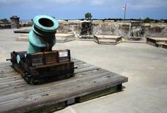 Artillerie espagnole Photo stock