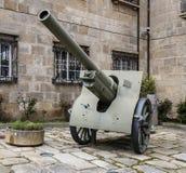 Artillerie, Obus 149 militaires Photographie stock