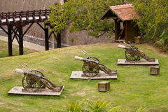 artillerie platform Royalty-vrije Stock Fotografie