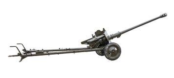 Artilleriegewehr Stockfoto