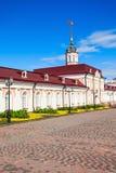 Artilleriehof, Kazan het Kremlin royalty-vrije stock foto's