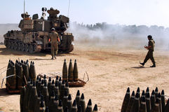 Artilleriekorpsen - Israël Stock Fotografie