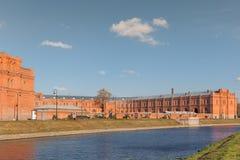 Artilleriemuseum in Heilige Petersburg, Rusland Stock Foto's