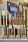 Artilleriprojektilar Arkivfoton