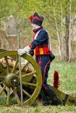 artilleristen Stockfotografie