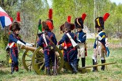 artilleristen Royalty-vrije Stock Afbeelding