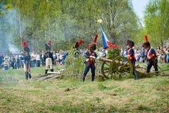 artilleristen Stock Foto's