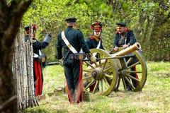 artillerister Arkivbild