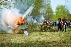 artillerister Fotografering för Bildbyråer