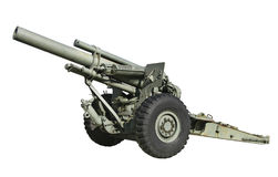 Artillerivapen Arkivbild