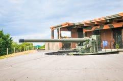 Artillerivapen från världskrig II arkivfoton