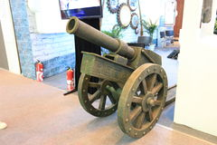 Artillery. Beijing exhibition hall of artillery Royalty Free Stock Photography