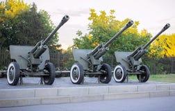 Artillery. Cannon. Stock Photo