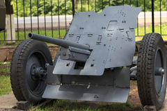 Artillery cannon Stock Photography