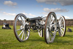 Artillery cannon from 1812 Royalty Free Stock Image