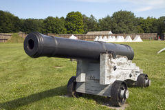 Artillery cannon from 1812 Royalty Free Stock Images