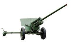 Artillery cannon stock photo