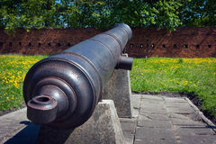Artillery of Citadel in Warsaw Stock Photo