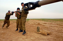 Artillery Corps - Israel Royalty Free Stock Photography