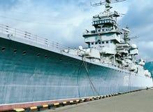 Artillery cruiser-museum Mikhail Kutuzov Stock Images