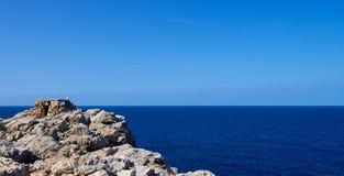 Artillery Facilities in Menorca Royalty Free Stock Photos