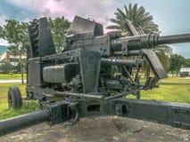 Artillery field gun Royalty Free Stock Images