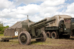 Artillery field gun Royalty Free Stock Photography