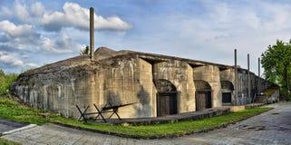 Artillery Fortress Dobrosov royalty free stock photo