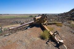 Artillery on the Golan Heights Stock Photos