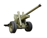 Artillery gun Royalty Free Stock Photography