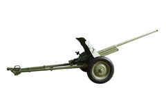 Artillery gun Royalty Free Stock Images