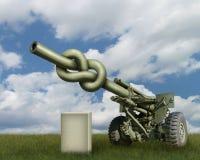 Artillery Gun Royalty Free Stock Image