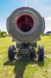 Artillery gun barrel Stock Photos