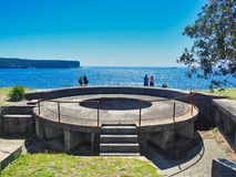 Free Artillery Gun Emplacement, South Head, Sydney Harbour, Australia Royalty Free Stock Image - 138393956