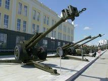 Artillery guns Stock Photos