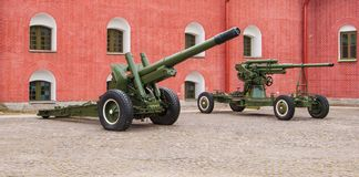 Artillery Stock Photo