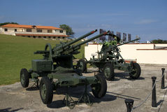 Artillery, Havana, Cuba Royalty Free Stock Images