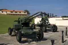 Artillery, Havana, Cuba Royalty Free Stock Images