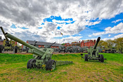 Artillery Museum of Finland Stock Photography