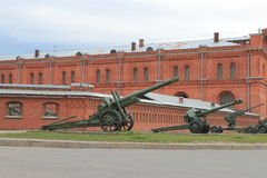The Artillery Museum Stock Photo