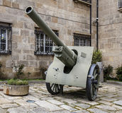 Artillery, Obus 149 military Stock Photography